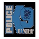 police k9 dog insignia